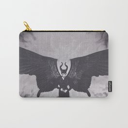 Realism Charcoal Drawing of Maleficent Carry-All Pouch