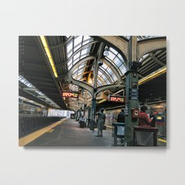 Philly Commute Metal Print