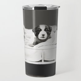 Harry Whittier Frees - Puppy With Insomnia Travel Mug