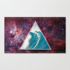 Spacial Crest Canvas Print