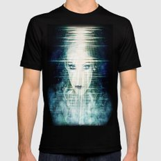 The Wizardess of Oz Black MEDIUM Mens Fitted Tee