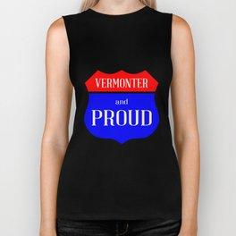 Vermonter And Proud Biker Tank