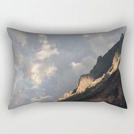 Glacier National Park Sunrise Rectangular Pillow