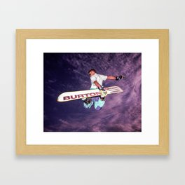 Snowboarding #2 Framed Art Print