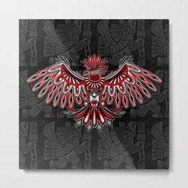 Eagle Tattoo Style Haida Art Metal Print