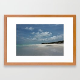 Island beauty Framed Art Print