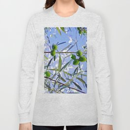 Olives in the sunshine Long Sleeve T-shirt