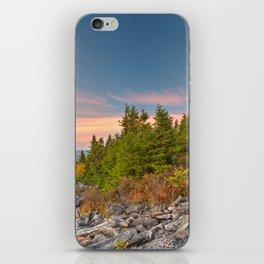 Spruce Knob Twilight Trail iPhone Skin