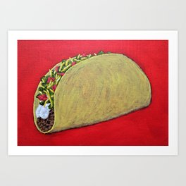 Taco 'Bout Awesome Art Print