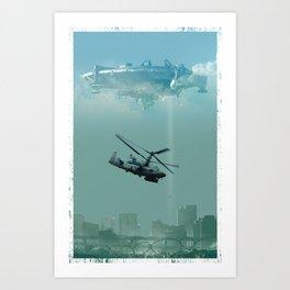 D9 Tribute Art Print