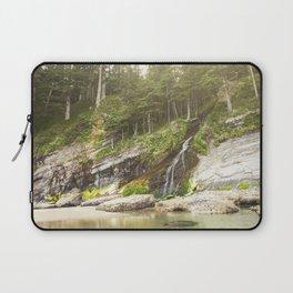 Waterfall Into The Ocean Laptop Sleeve