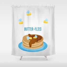 Butter-Flies Shower Curtain