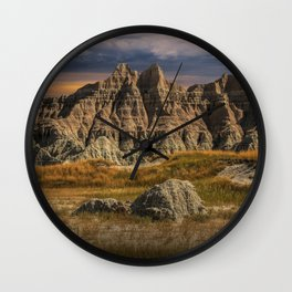 Badlands National Park Wall Clock