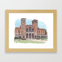 Royce Hall UCLA Framed Art Print