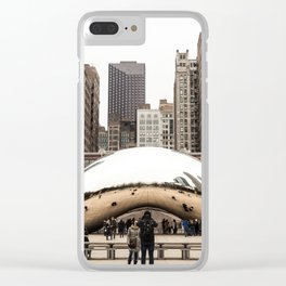 Cloud Gate / The Bean Chicago Clear iPhone Case