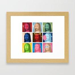 Marilyn Lisa Framed Art Print