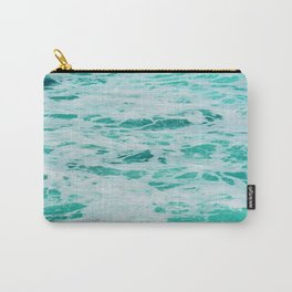 teal waves Carry-All Pouch