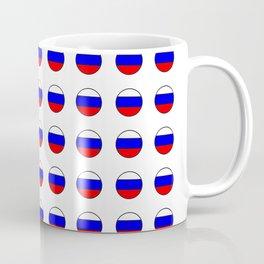 Flag of russia 4 -rus,ussr,Russian,Росси́я,Moscow,Saint Petersburg,Dostoyevsky,chess Coffee Mug
