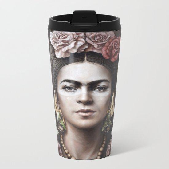 Hommage a Frida 5 Metal Travel Mug