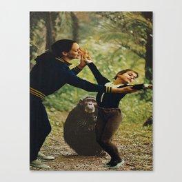 Ballet for Monkeys Canvas Print