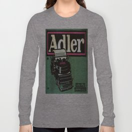 Vintage poster - Adler Typewriters Long Sleeve T-shirt