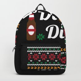 Dilly Dilly Beer Ugly Shirt Backpack