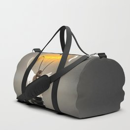 Tired Girl Duffle Bag