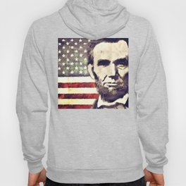 Patriot President Abraham Lincoln Hoody