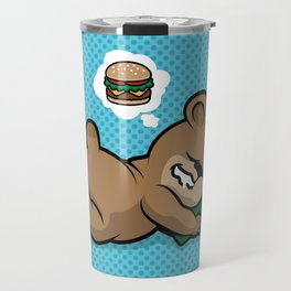Party Tired Ted Travel Mug