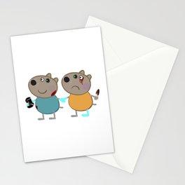 Piggy Skin Stationery Cards