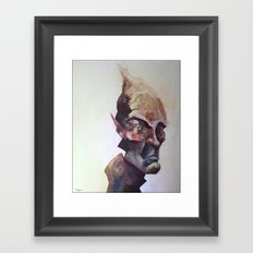 Paintful Enjoyment Framed Art Print
