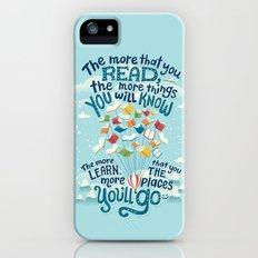 Go places iPhone SE Slim Case