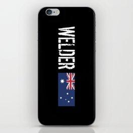Welder: Australian Flag iPhone Skin