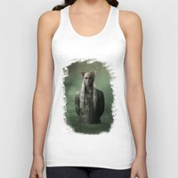 thranduil Tank Tops featuring The Great King Thranduil by LindaMarieAnson