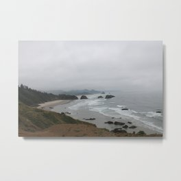 The Coast From Ecola Metal Print