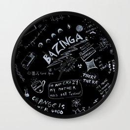 Big Bang Pattern Wall Clock