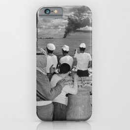 The Blame Game International Diplomacy Edition - Vintage Collage iPhone Case