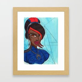 The Good Witch Framed Art Print