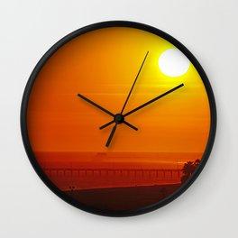 Under a Tropical Sun Wall Clock