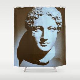 Head of a Goddess - photo Shower Curtain