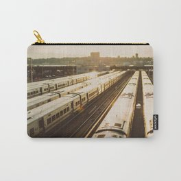 NYC Trains Carry-All Pouch
