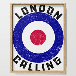 London Calling Serving Tray