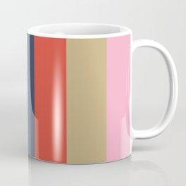 ENLIVEN: (E)cru (N)adeshiko Pink (L)avender (I)ndigo (V)ermilion (E)cru  (N)adeshiko Pink Coffee Mug