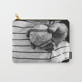 Grip on Vintage Baseball Carry-All Pouch