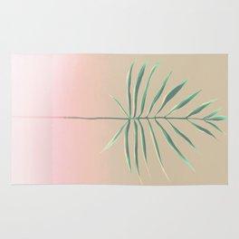 Pink & Palm Rug