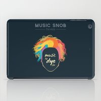 paramore iPad Cases featuring Music to DYE for — Music Snob Tip #075 by Elizabeth Owens