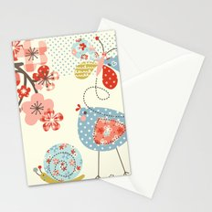 Spring Birdie Stationery Cards