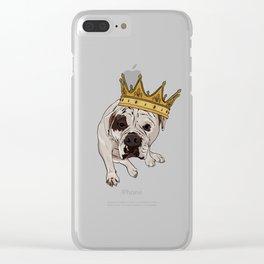 Queen Zoe Clear iPhone Case