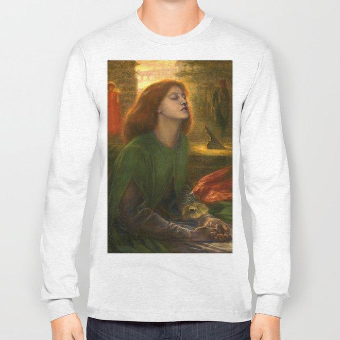 Beata Beatrix by Dante Gabriel Rossetti, 1864 Long Sleeve T-shirt