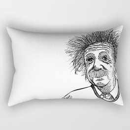 Einstein Rectangular Pillow